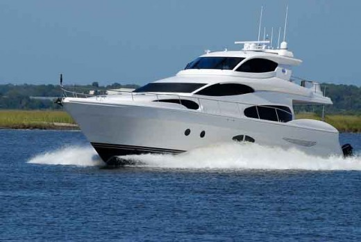 A beautiful luxury yacht for cruising with style.