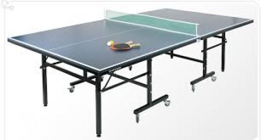 Full sized ping pong table