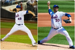 Mets re-sign deGrom and Harvey to 1-year deals.  deGrom gets a hefty raise.