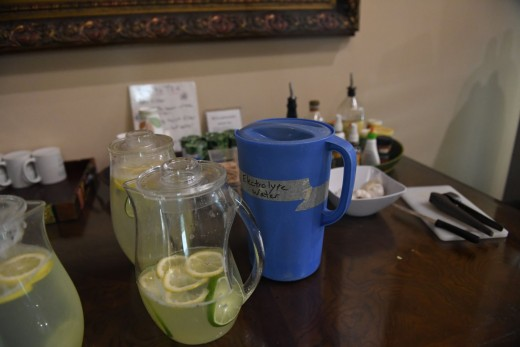 Green Juice and lemon-lime juice