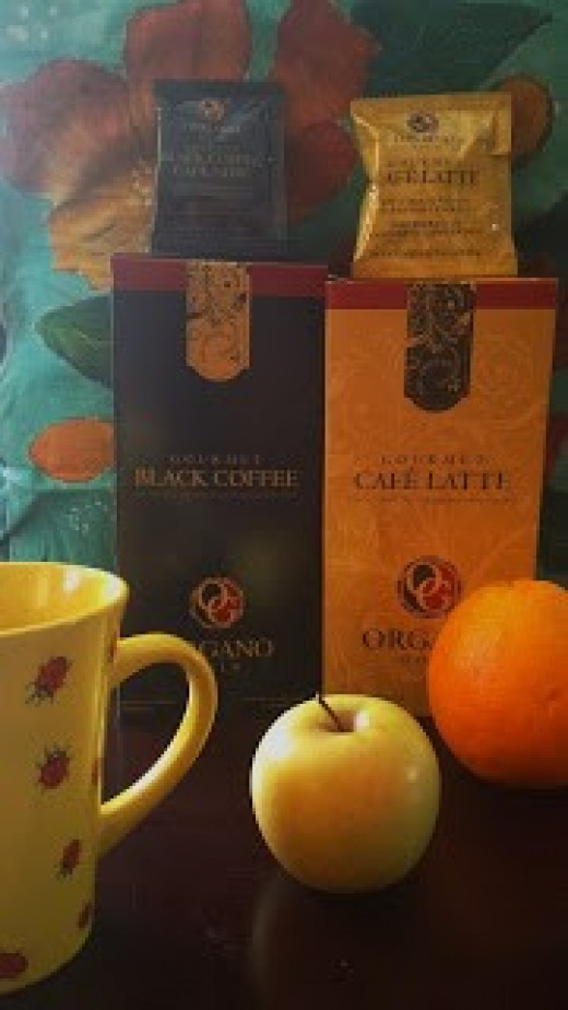 OrganoGold Black Coffee and Cafe Latte