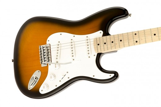 The Squier Affinity Stratocaster is one of the top guitars for beginners for under $200.