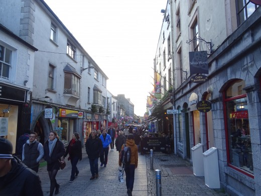 Galway is a really beautiful city to travel to - it's easy to explore and you can take one day tour to Cliffs of Moher from there.
