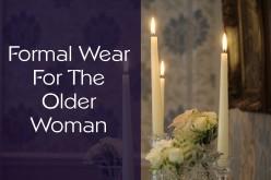 Formal Wear For Older Women