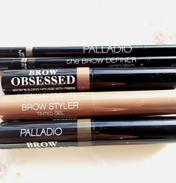 A review of getting the 2017 full brow trend with Palladio cosmetics