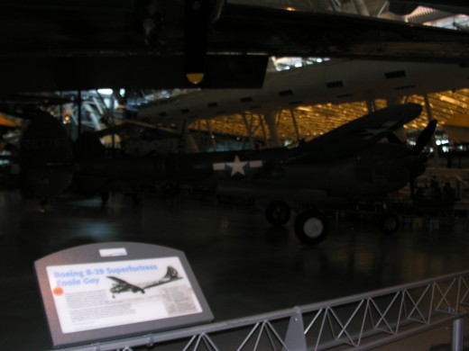 A P-38 at the Udvar-Hazy Center, June, 2015.