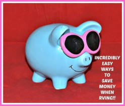 Incredibly Easy Ways to Save Money When RVing