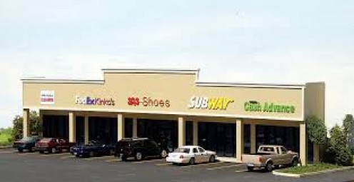 Shopping centers as well as spots right off of the interstate are perfect, high traffic areas fit to start a business.