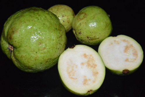 Guava with white flesh