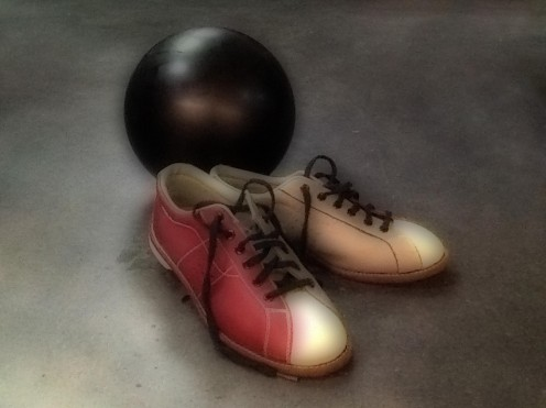 The universal symbol of bowling