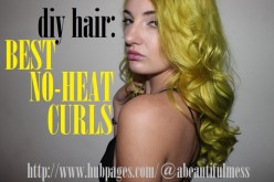 DIY Hair: Perfect No-Heat Curls