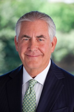 Rex Tillerson, US Secretary of State
