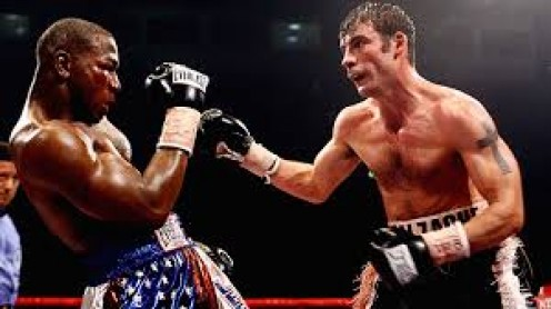 Both Calzaghe and Lacy were undefeated super middleweight champions entering their unification bout but Calzaghe dominated all 12 rounds to unify the 168 pound titles.