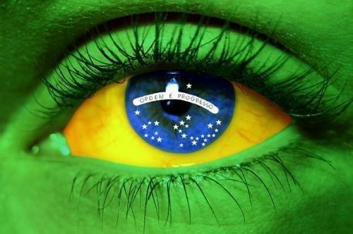 BRAZILIAN FLAG EYE