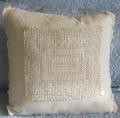 How To Make Throw Pillows From Dinner Napkins