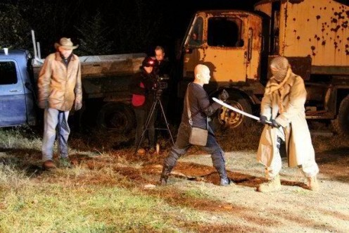 work Behind the Scenes  of Zombie Apocalypse  Redemption