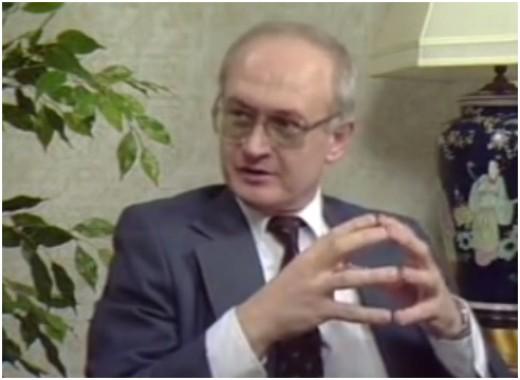 Former KGB agent and Soviet diplomat, Yuri Bezmenov