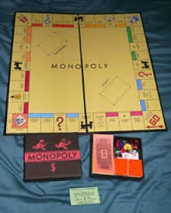 The first Monopoly set may appear plain compared to some other versions but this one is the most valuable on this list.