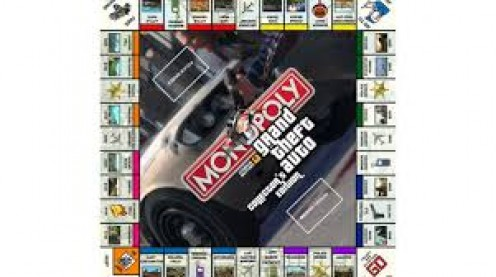 If you love playing GTA on the video game consoles than you will go wild over the Monopoly take on the video game hit.