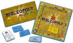 Learn facts and information on The Holy Bible while having fun playing Monopoly with your family and friends.