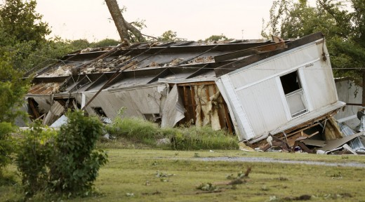 Manufactured homes are particularly vulnerable to destructive Southern tornadoes