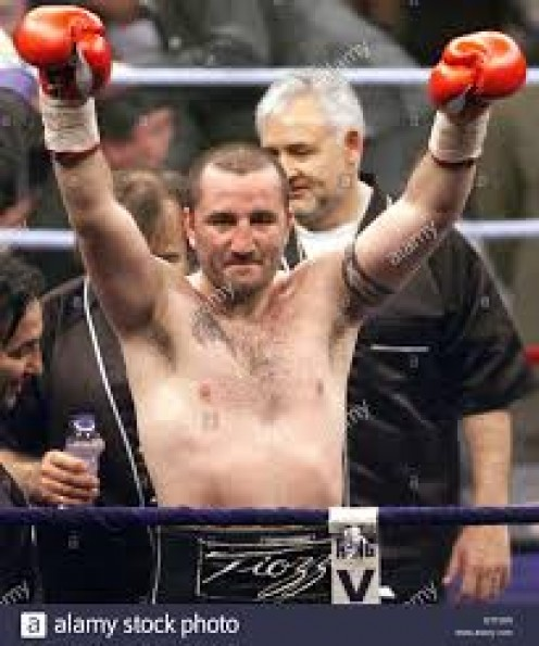 Fabrice Tiozzo is a former 2-time light heavyweight champion and a former cruiserweight title holder as well.