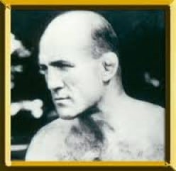 A classic and rare photo of Marcel Thil which is located at the International Boxing Hall of Fame in Canastota, NY.