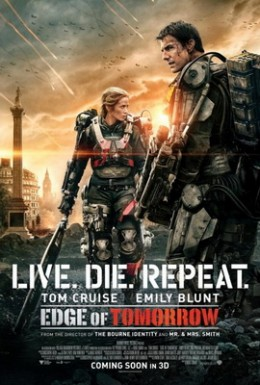 Edge of Tomorrow Theatrical Release Poster