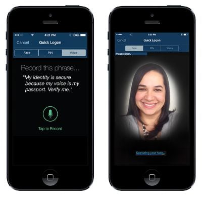 USAA offers the most advanced biometric features on the market right now