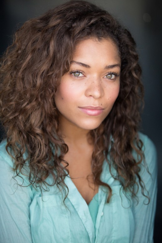 "Evie is played by Antonia Thomas.  Thomas has also starred in E4's comedy, ""Misfits"" as well as the film, ""Sunshine on Leith."""