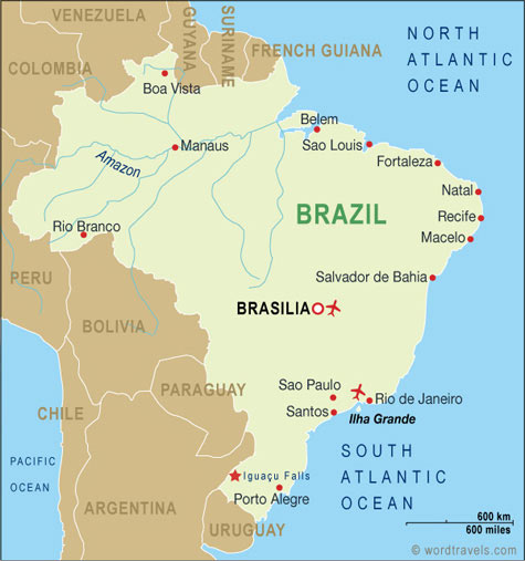 MAP 2 OF BRAZIL
