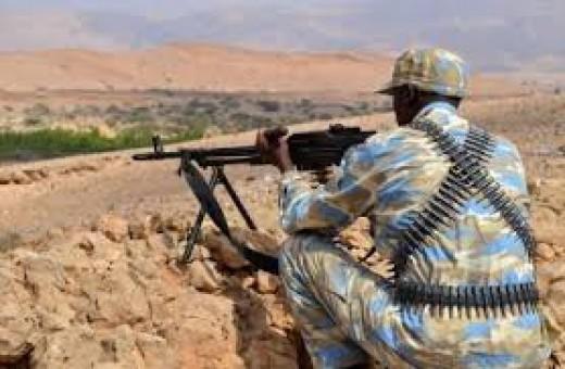Somali Soldier in Puntland