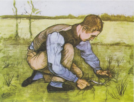 (One of Van gogh's works in 1881)