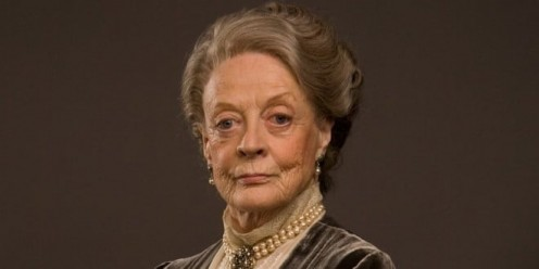 Dame Maggie Smith has another iconic role now: the Countess Dowager.