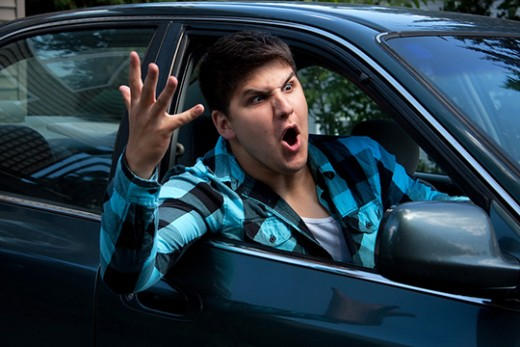 Some road rage deaths are caused by messages we send with our hands.