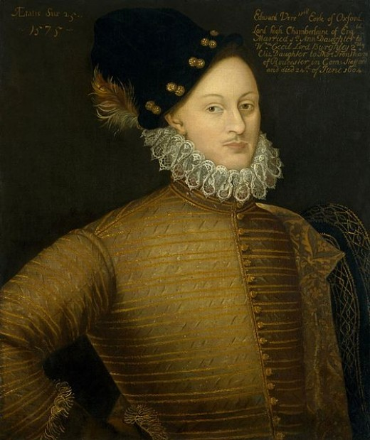 """The real Shakespeare: """"William Shakespeare"""" was the nom de plume of the 17th Earl of Oxford, Edward de Vere."""