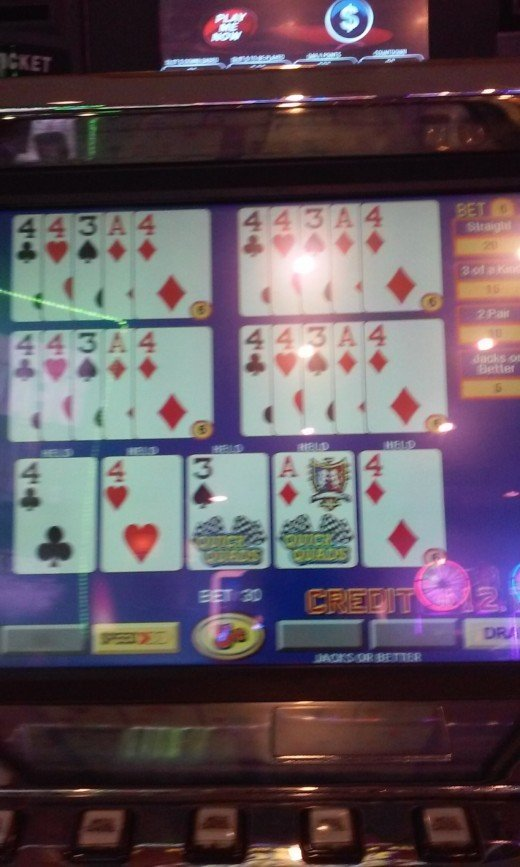 Dealt Quick Quads