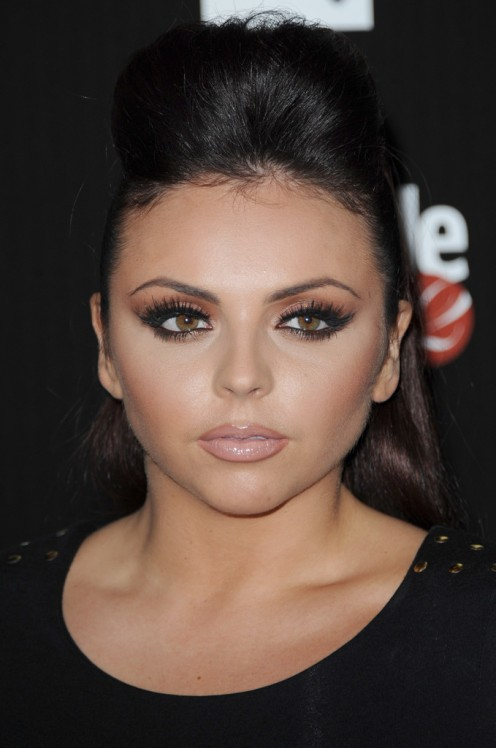 "Singer ""Jesy Nelson"" is seen here at the Attitude Magazine Awards in London in October 2012."
