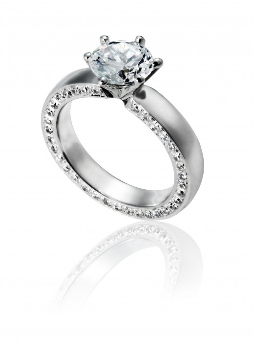 A classic round solitaire is a great choice if you are stumped on which shape to choose.