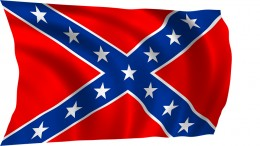 The Stars and Bars were a noted controversy throughout 2016 and was banned in some states as racist.