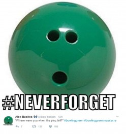 Shall we say a prayer for the victims of the Bowling Green Massacre?