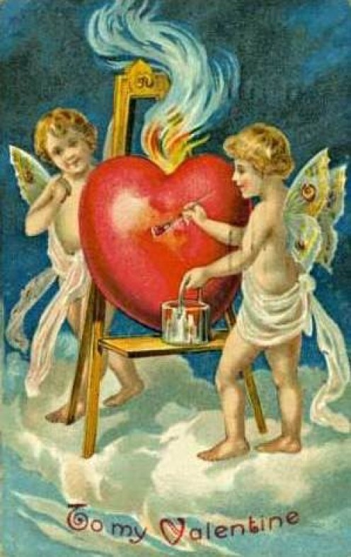 Valentine Card from 1909