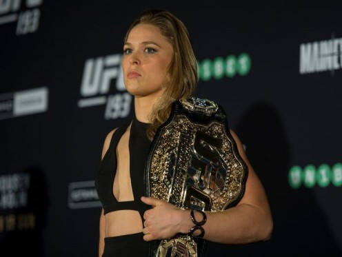 UFC Champion, the lovely Ronda Rousey