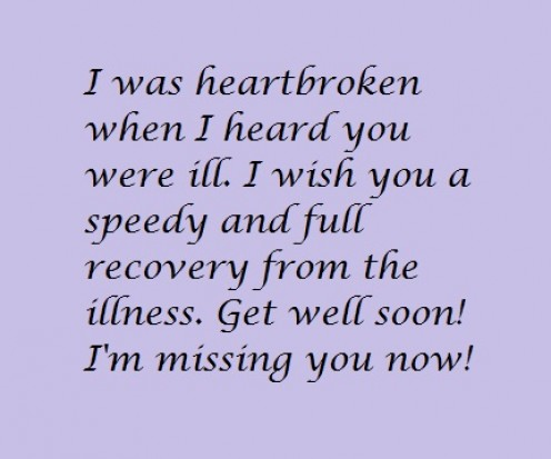 Get Well Soon Messages For A Friend | Letterpile