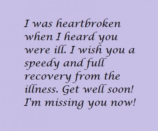 Saying Quotes About Sadness: Get Well Soon Messages For A Friend