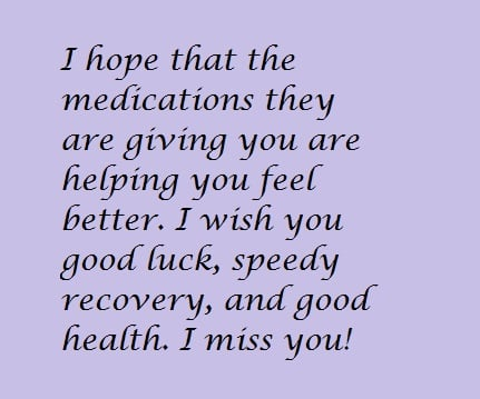 get well soon messages for a friend holidappy