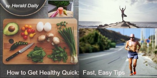 Take the quiz then get some fast, easy tips on how to get and stay healthy faster