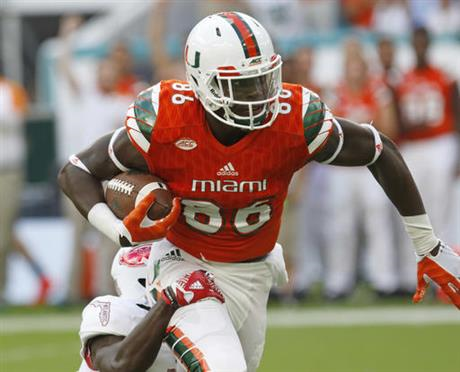 David Njoku, TE, Miami