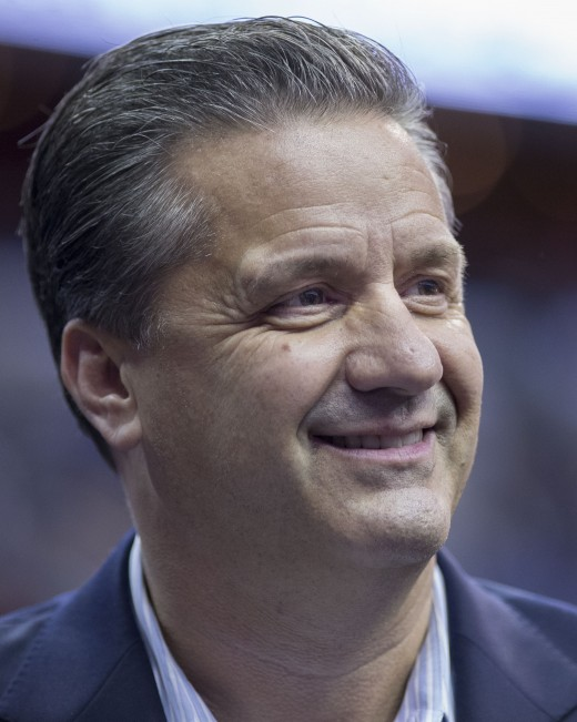 John Calipari, head coach, Kentucky Wildcats basketball has been called a complex man.