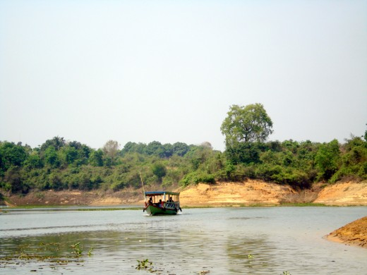 Boating in Kaptai lake